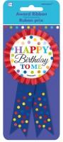 Rainbow Birthday Button 14,6cm