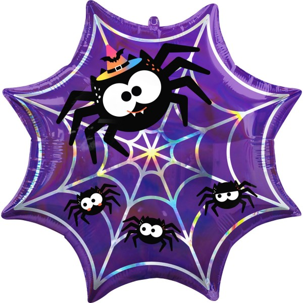 Spider Halloween Folienballon 55cm