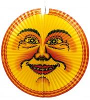Strahlender XXL Mond Lampion 65cm