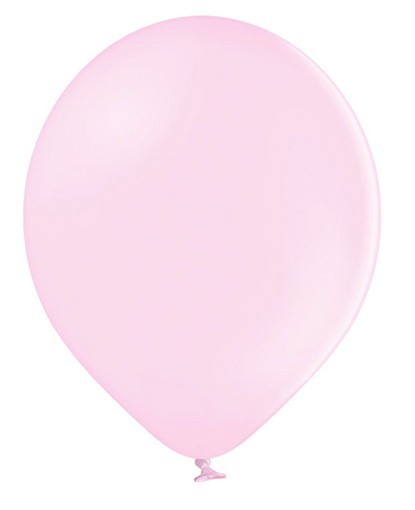 10 ballons étoiles rose pastel 30cm