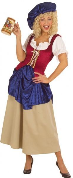 Mittelalterliches Schankfrau Damenkostüm