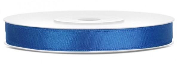 25m satin gift ribbon royal blue 6mm wide