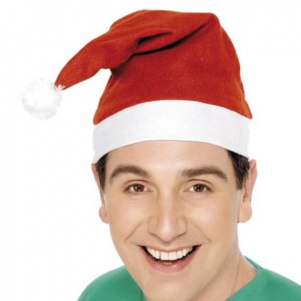 Chapeau de Noël classique pour adultes