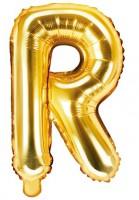 Folienballon R gold 35cm