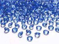 100 Streudeko Diamanten royalblau 1,2cm