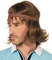 70er Jahre Perücke Mit Stirnband