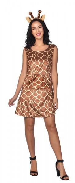 Déguisement girafe Gisela pour femme