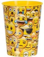 Smiley Faces Kunststoff Becher 455ml