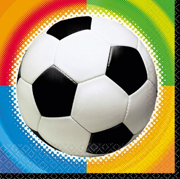 16 Fußballmeister Servietten