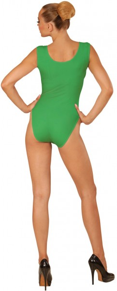Body vert sans manches