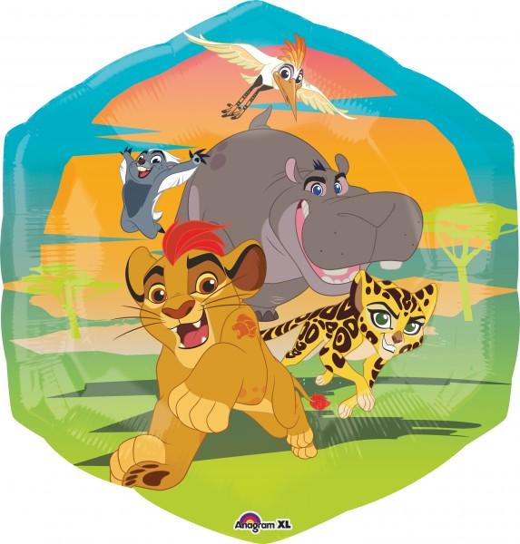 Folienballon Garde der Löwen Animal Run