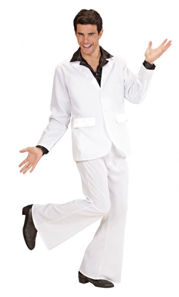 Frauenheld Disco Anzug 70er Jahre Kostüm
