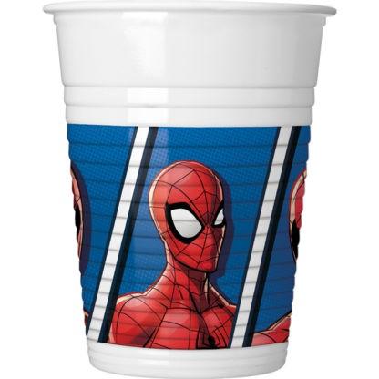 Spiderman Team Up 8 plastic mug 200ml