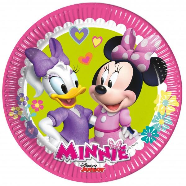 8 Minnie & Daisy Pappteller 20cm