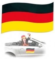 Deutschland Fan Magnetfahne