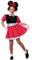 Süßes Punkte Mäuschen Kostüm Für Mädchen