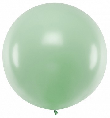 XXL balloon party giant pistachio 1m