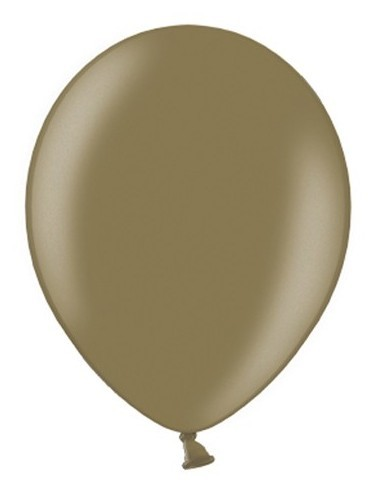 50 Ballons Metallic Cappuccino 27cm