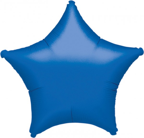 Ballon étoile bleu marine 48cm