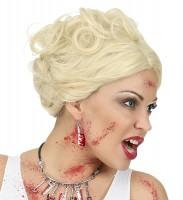 Blutverschmierte Beil Ohrringe