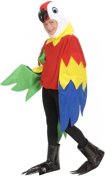 Parrotti Parrot Child Costume