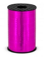 225m Geschenkband Hong Kong metallic-pink