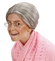 Graue Großmutter Perücke Für Kinder