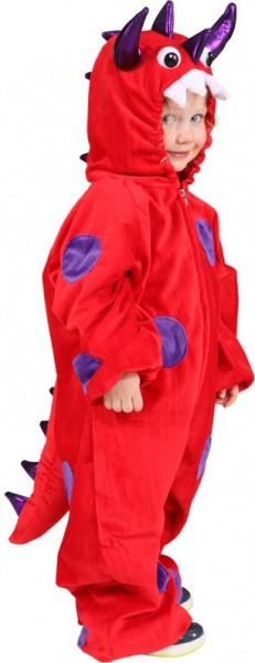 Little Dino Kinderkostüm Rot 1