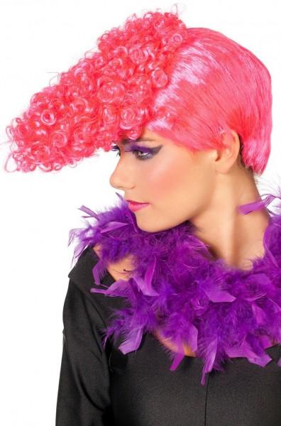 Neon Pinke Party Freak Perücke