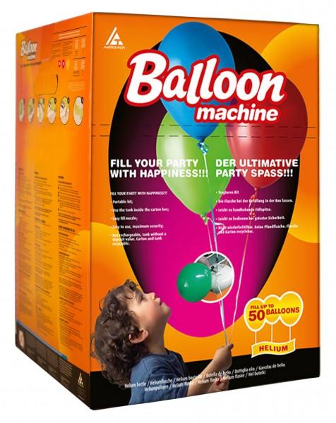 Bouteille d'hélium pour environ 50 ballons