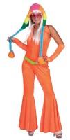 Neon Jumpsuit Orange