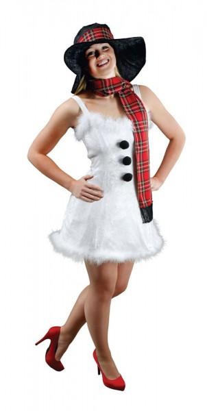 Sexy snow woman ladies costume