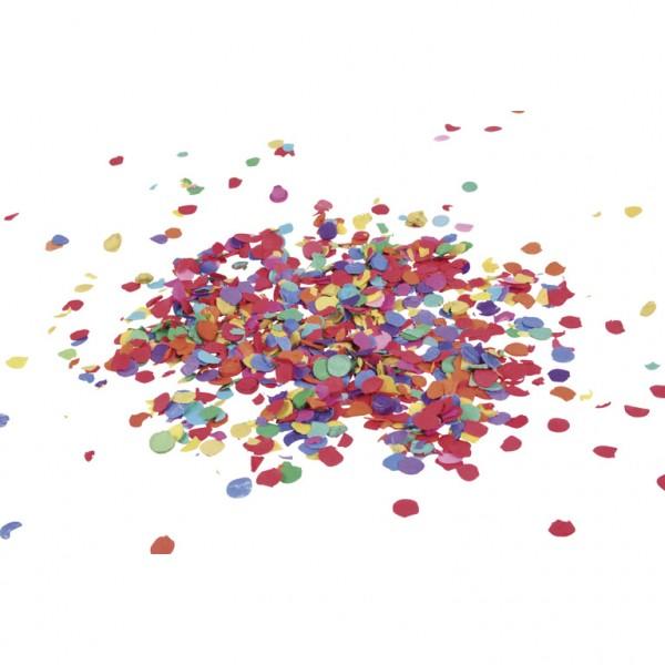 Brightly colored confetti fun 1kg