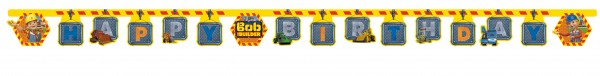 Bob & Sein Team Happy Birthday Girlande 200cm