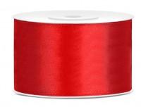 25m Satin Geschenkband rot 38mm breit