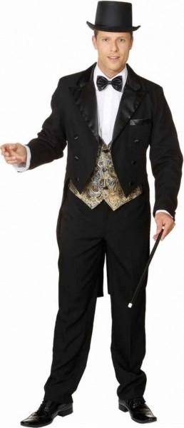 Elegant tailcoat pianist costume for men