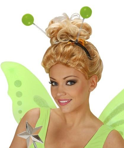 Grüner Alien Antennen Haarreif