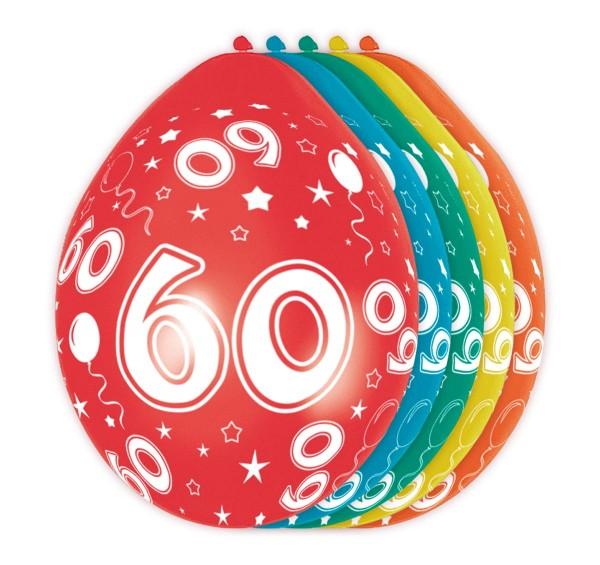 5 ballonnen Big 60 30cm
