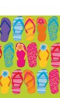Sommer Sandalen Tischdecke 2,59 x 1,37m