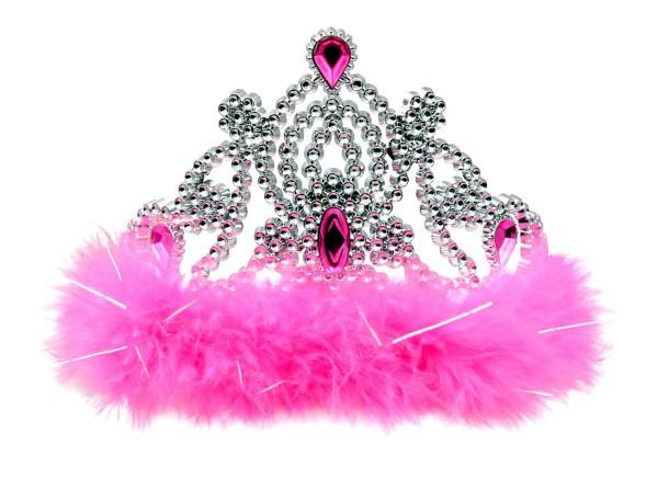 Corona incantevole in argento