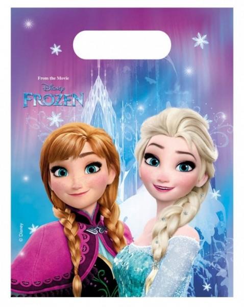 6 Frozen Nordlicht Geschenktüten