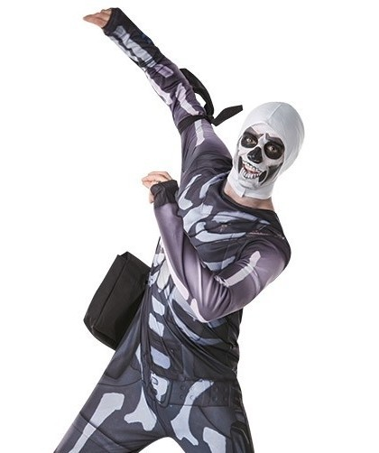 Fortnite Kostüm Skull Trooper für Teenager