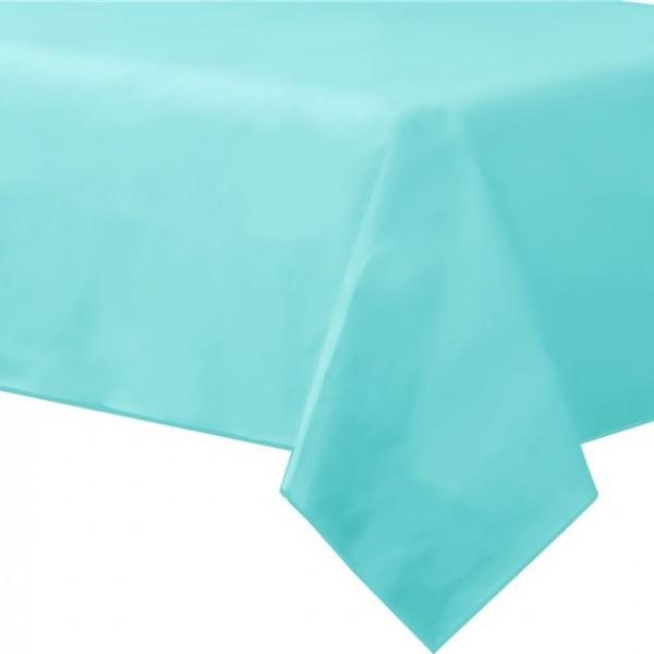 Mantel azul hielo Basel 2,8 x 1,4 m