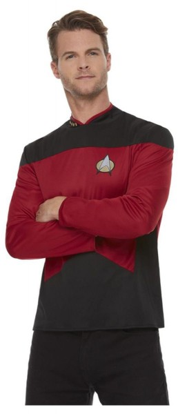 Star Trek next Generation Uniform Shirt für Herren rot