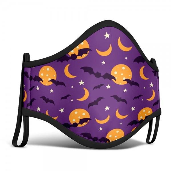 Mund-Nase-Maske Fledermaus Nacht für Kinder