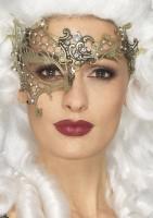 Goldene Aurifero Grata Augenmaske