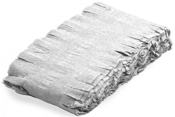 Hvid frynser krans Anni 6m