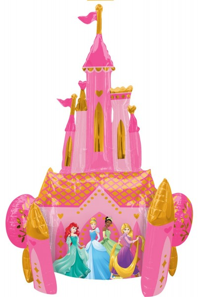 Disney Princess Castle Airwalker 88 cm x 1,39 m