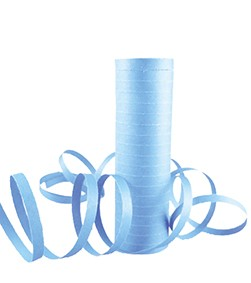 Baby blue streamers set of 2