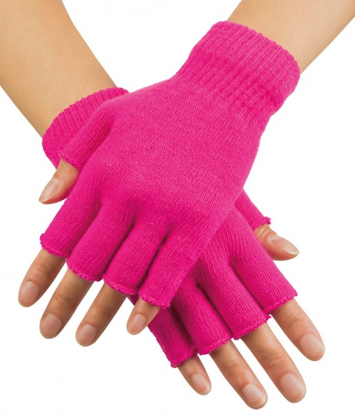 Fingerlose Pinky Handschuhe In Pink